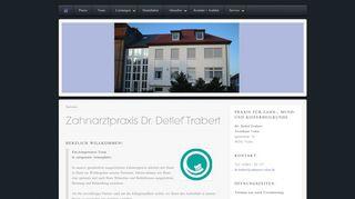 Zahnarztpraxis Dr. Detlef Trabert