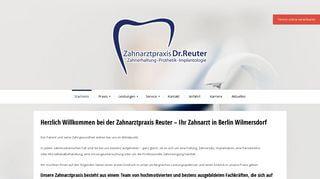Zahnarztpraxis Marvin Reuter