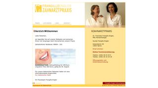 Zahnarztpraxis Dr. Franziska Frangillo-Engler, MSc Gunda Frangillo-Engler