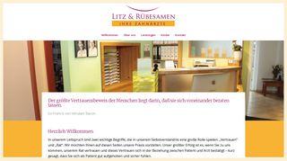 Zahnarztpraxis Rübesamen & Litz