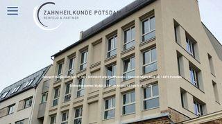 Zahnheilkunde Potsdam - Hannes Rehfeld - Zahnarzt