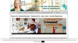 Praxis für Zahnheilkunde Dr. med. dent. Harald Kopfmann