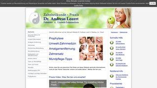 Zahnheilkunde-Praxis Dr. Andreas Lozert