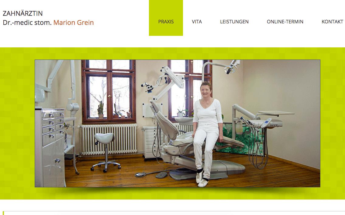 Zahnärztin Dr.-medic stom. Marion Grein