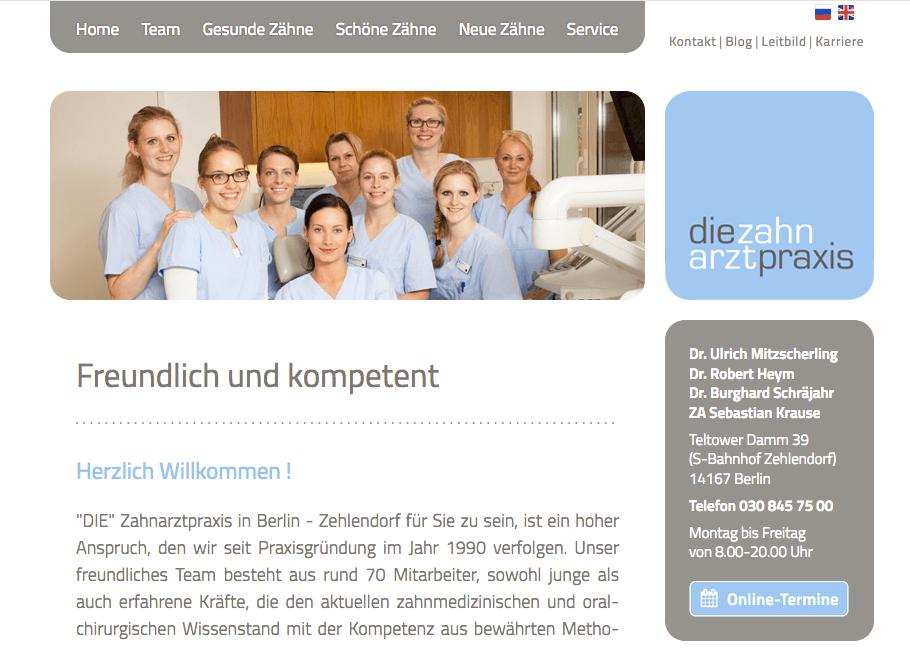 Zahnarztpraxis Dr. Mitzscherling, Dr. Heym & Partner