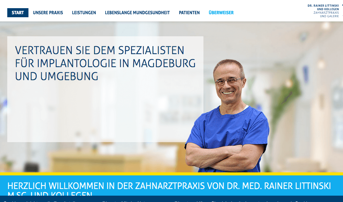 Zahnarztpraxis Dr. med. MSC Rainer Littinski & Partner