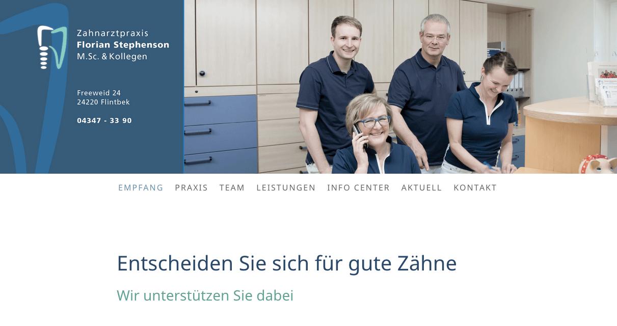 Zahnarztpraxis Florian Stephenson M.Sc. & Kollegen
