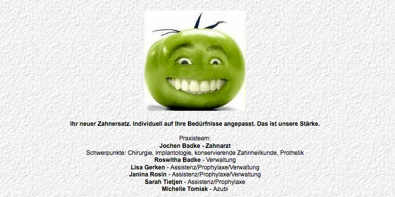Zahnarzt Jochen Badke