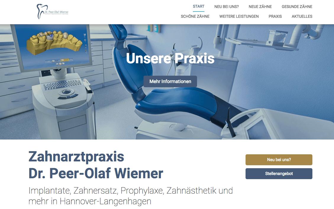 Zahnarztpraxis Dr. Peer-Olaf Wiemer