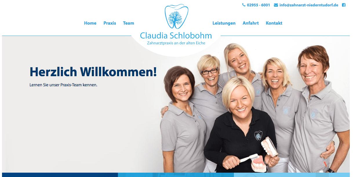 Zahnarztpraxis an der alten Eiche - Claudia Schlobohm