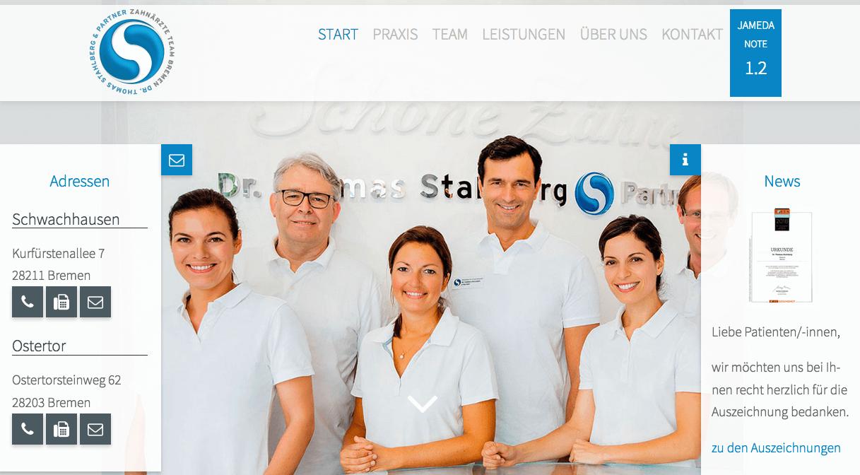 Zahnarztpraxis Dr. Thomas Stahlberg & Partner, Praxis Schwachhausen