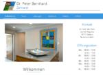 Arzt für ganzheitliche Zahnmedizin Dr. Peter Bernhard