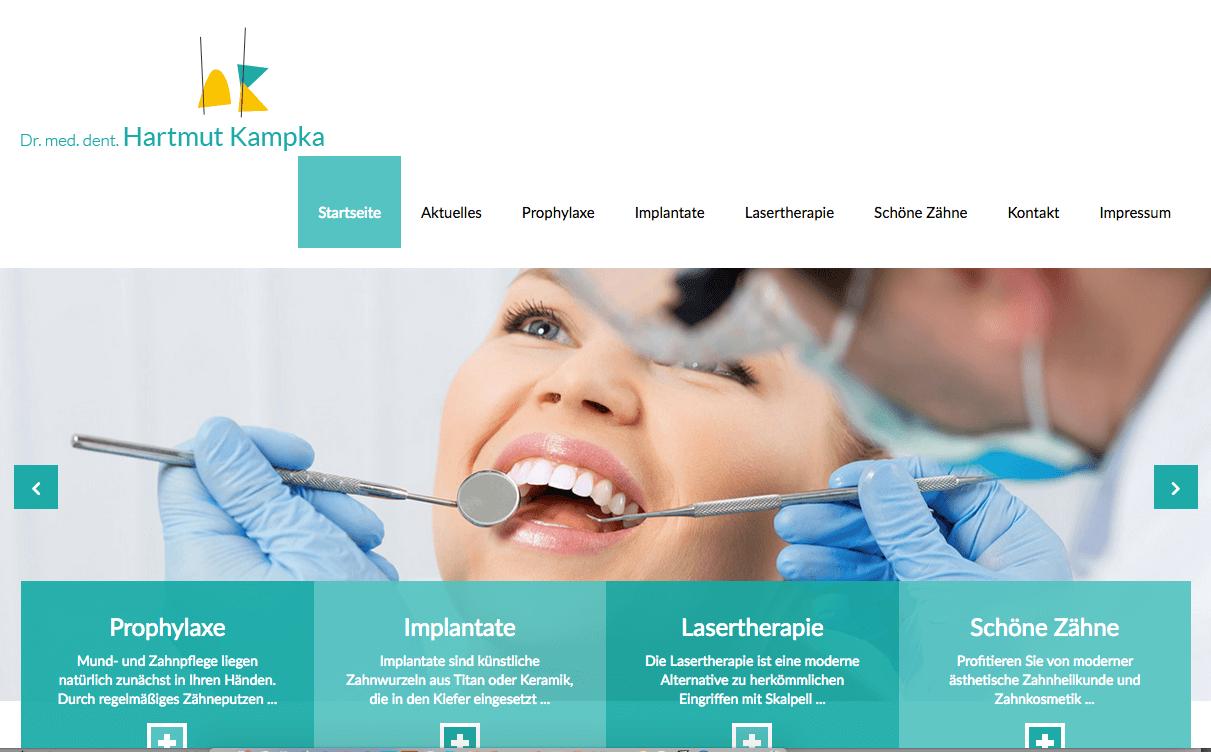 Zahnarzt Dr. med. dent. Hartmut Kampka