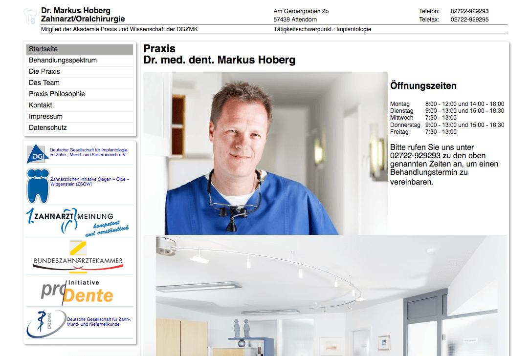 Praxis Dr. med. dent. Markus Hoberg