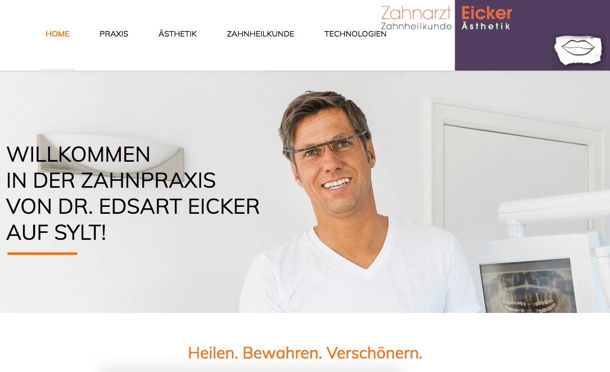 Zahnarztpraxis Dr. Edsart Eicker Ihr Zahnarzt auf Sylt