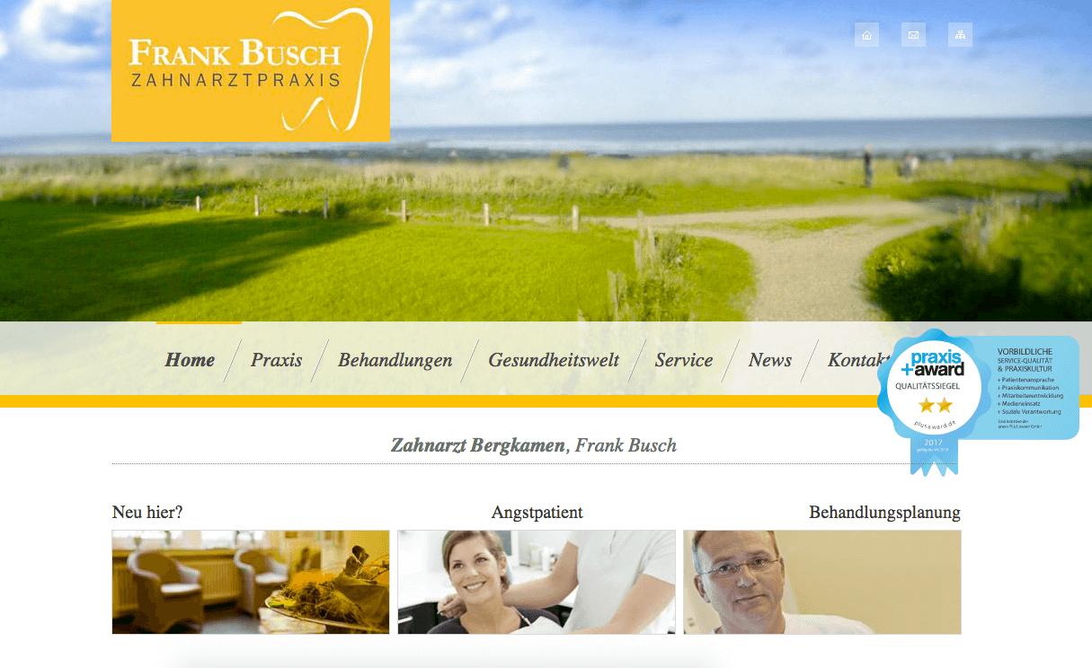 Zahnarzt-Praxis Bergkamen, Frank Busch
