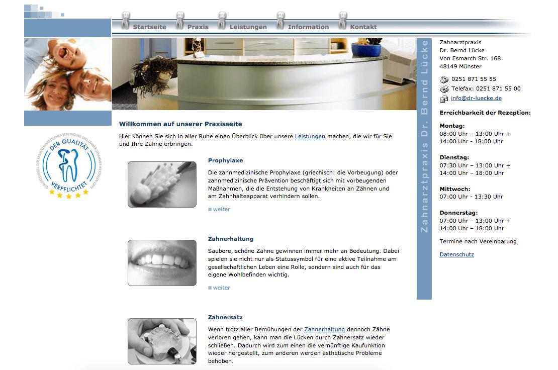 Zahnarztpraxis Dr. med. Bernd Lücke