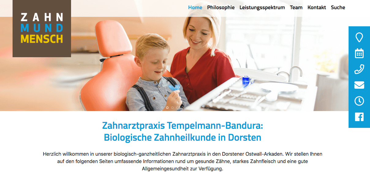 Zahnarztpraxis Tempelmann-Bandura in Dorsten