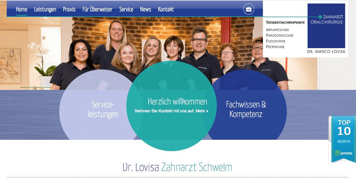 Zahnarzt Schwelm, Dr. Marco Lovisa