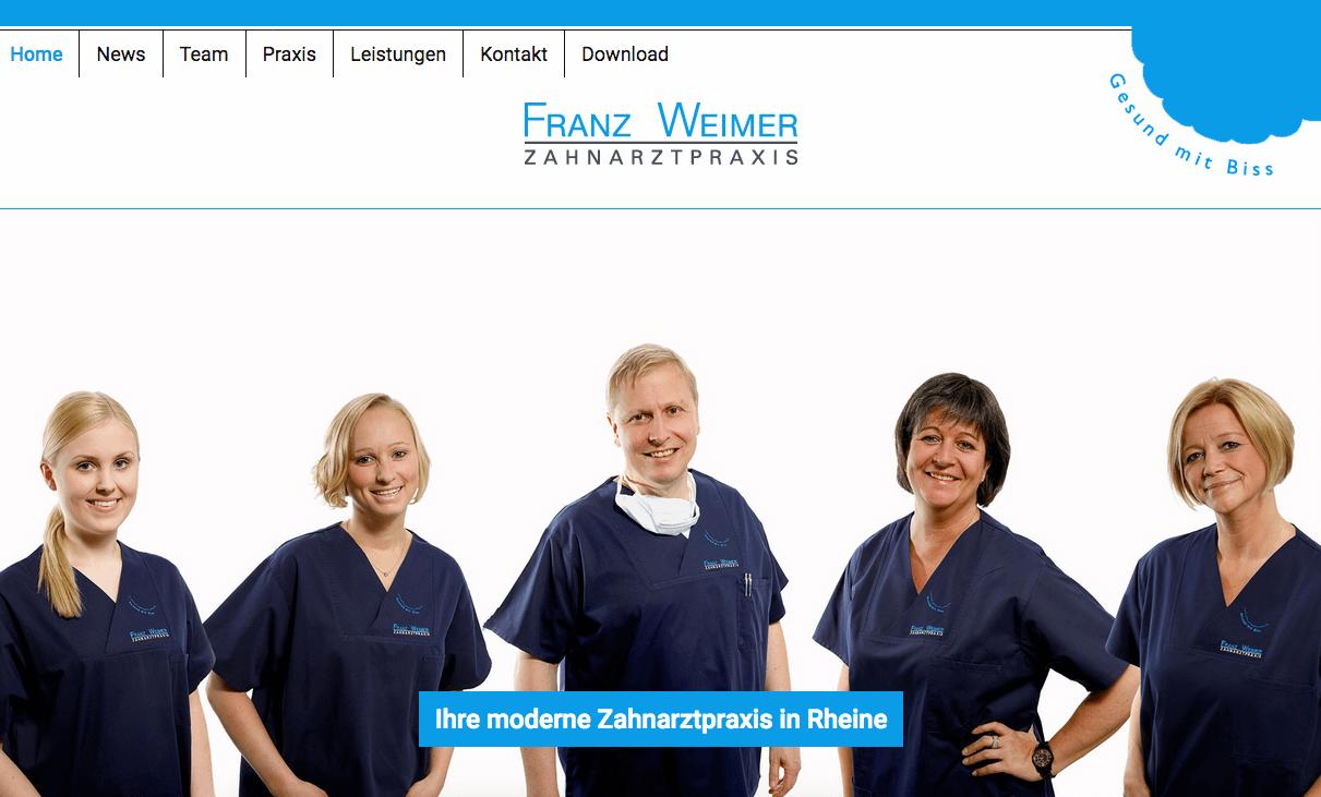 Zahnarztpraxis Franz Weimer