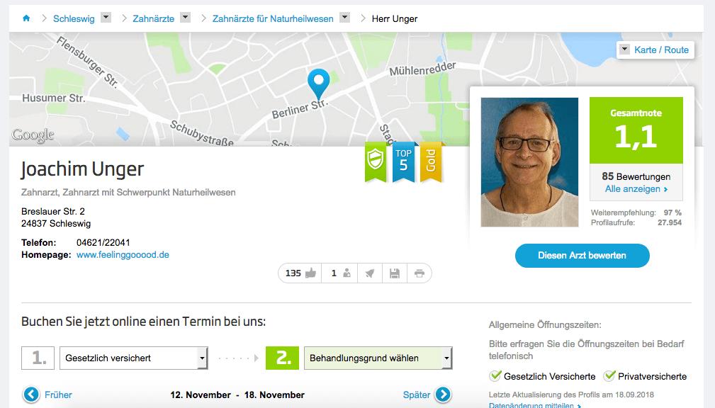 Zahnarztpraxis Joachim Unger