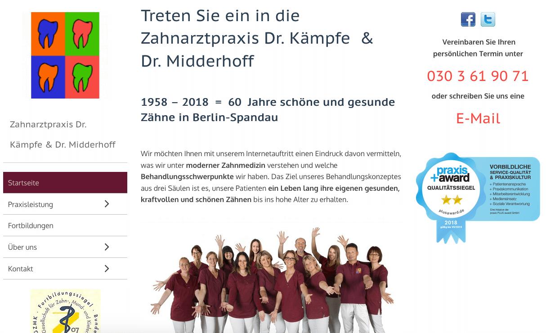 Zahnarzt-Praxis Dr. Kämpfe & Dr. Midderhoff
