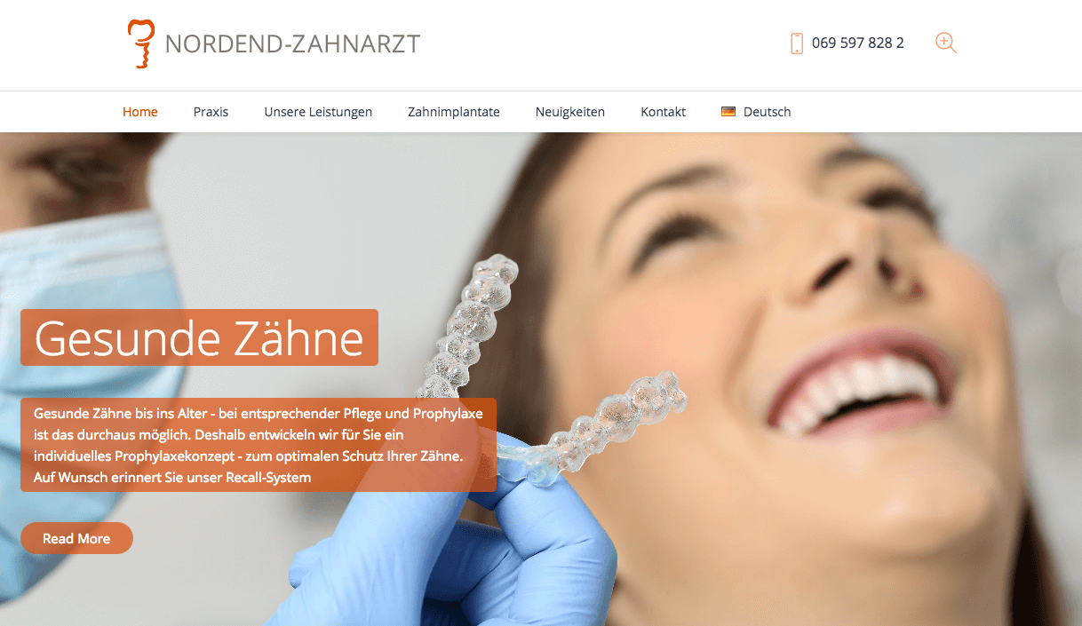 Ihre Zahnärzte im Nordend – Dr. med. dent. H. Hakimi und Kollegen