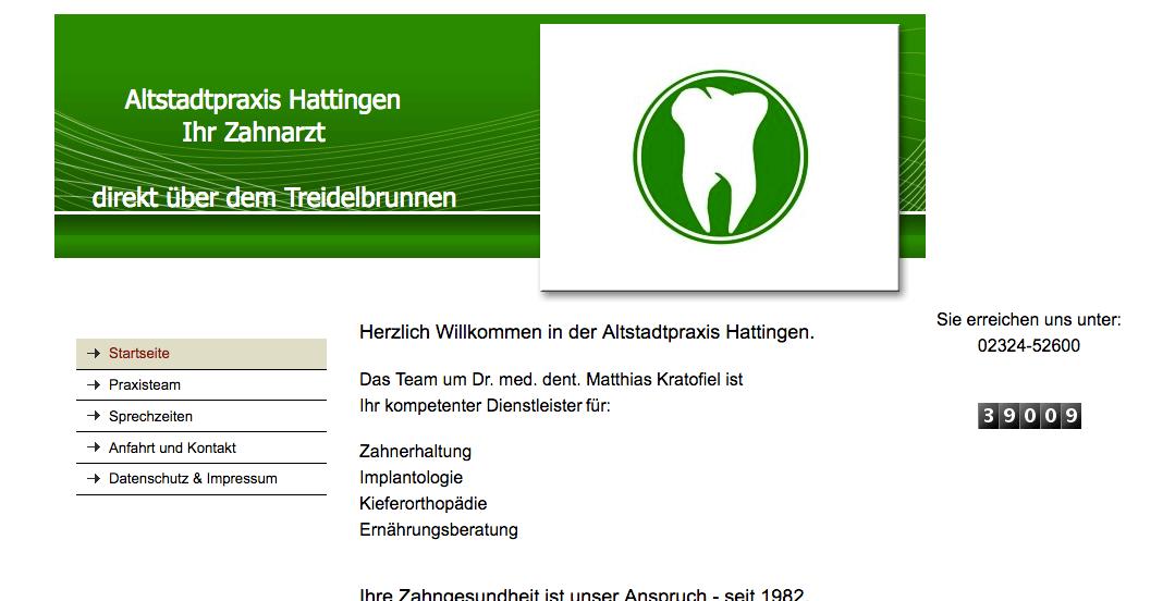 Altstadtpraxis Dr. med. dent Matthias Kratofiel