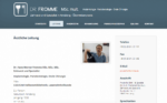 Praxis für Zahnheilkunde und Spezialgebiete Dr. H.-W. Fromme