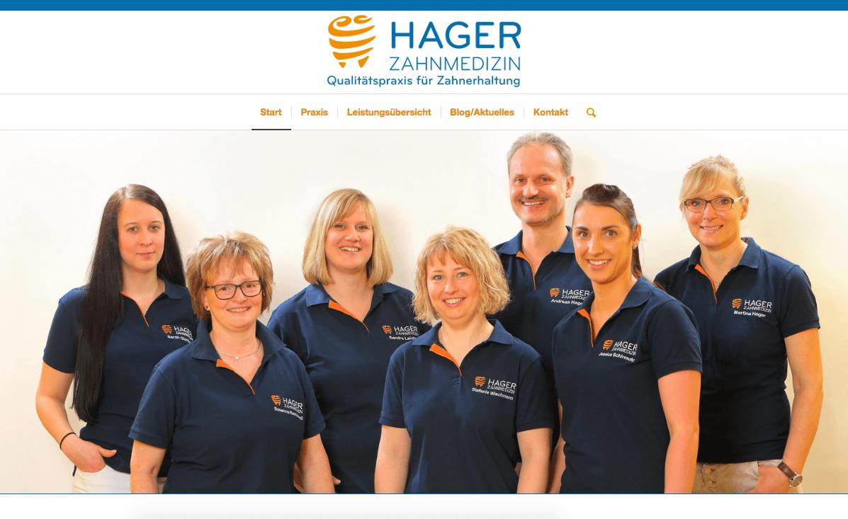 Hager Zahnmedizin – Qualitätspraxis für Zahnerhaltung in Burbach/Wahlbach
