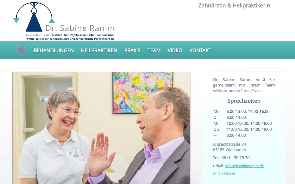 Zahnarztpraxis Dr. Sabine Ramm - Wiesbaden