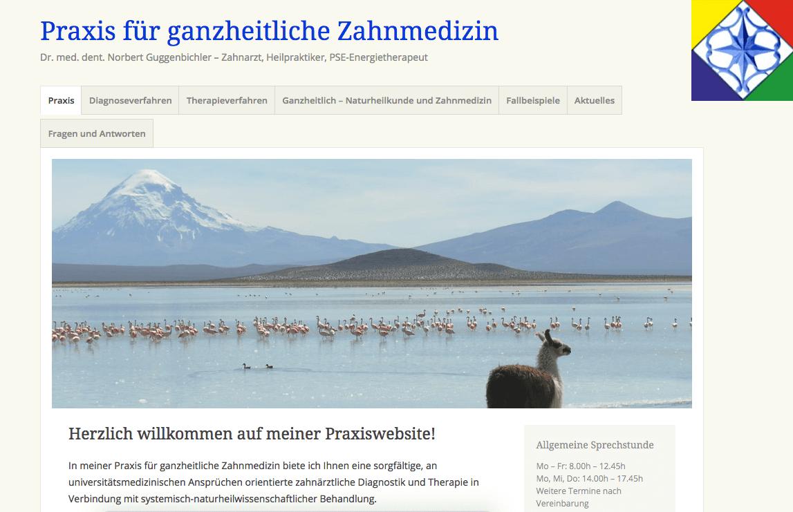 Praxis für ganzheitliche Zahnmedizin -  Dr. med. dent. Norbert Guggenbichler
