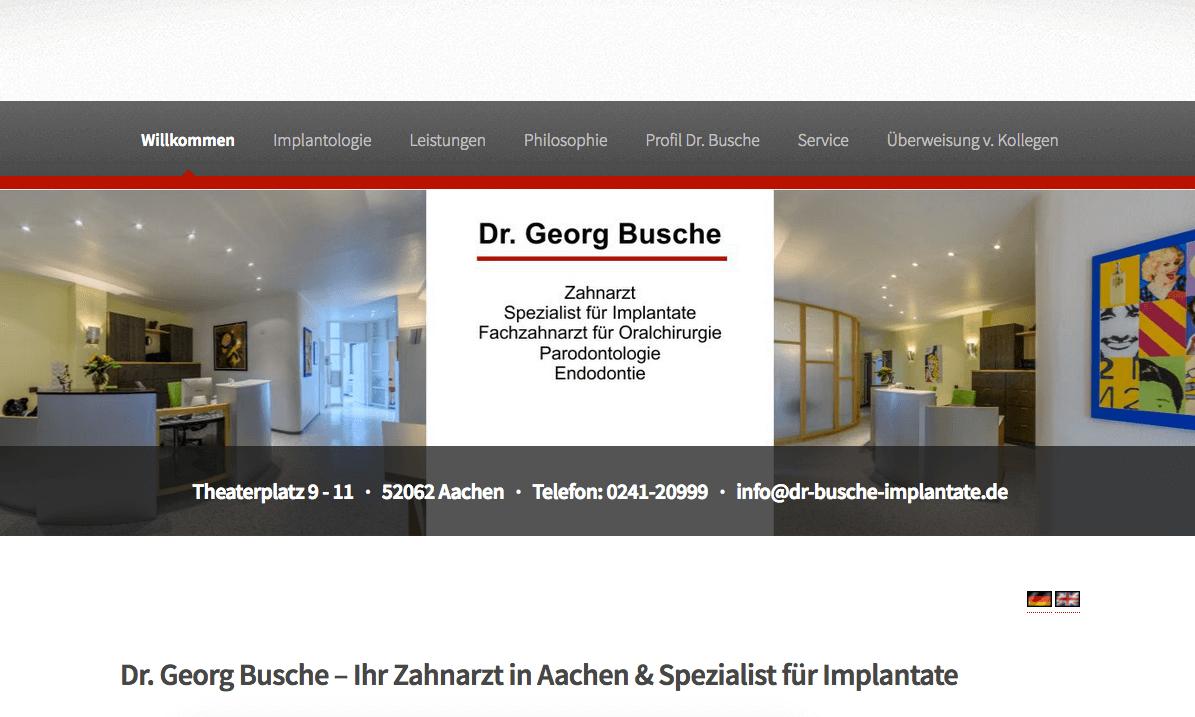 Dr. Georg Busche - Zahnarzt & Oralchirurg