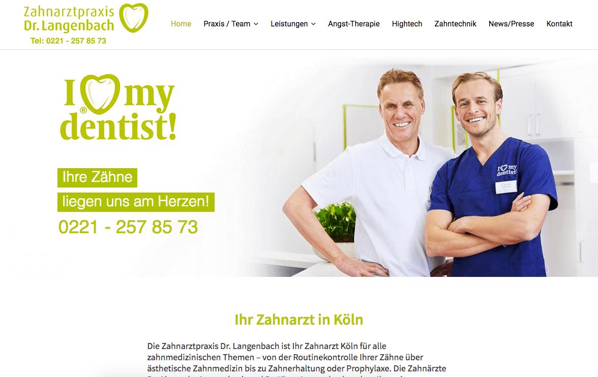 Zahnarzt Köln Innenstadt | Zahnarztpraxis Dr. Langenbach