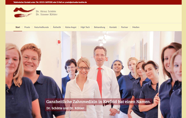 Zahnarztpraxis Dr. Heinz Schütte und Dr. Simone Köhler