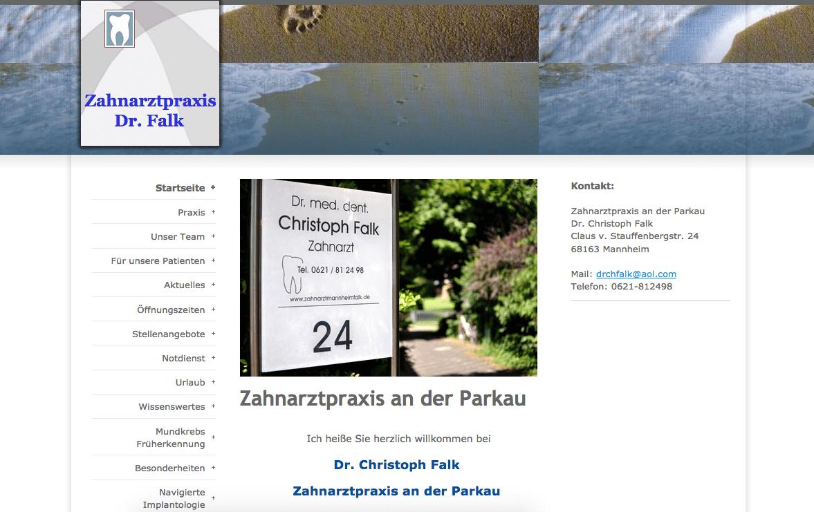 Zahnarztpraxis an der Parkau - Dr. Christoph Falk