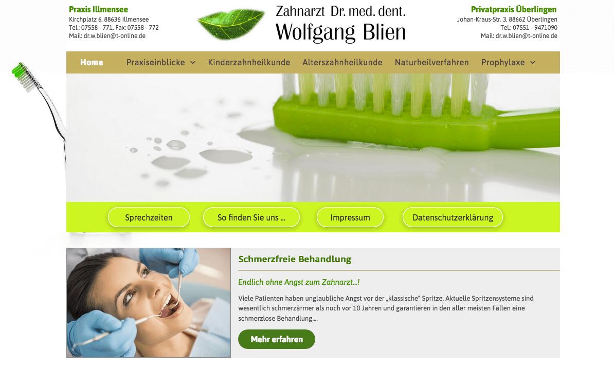 Zahnarztpraxis Dr. med. dent. Wolfgang Blien
