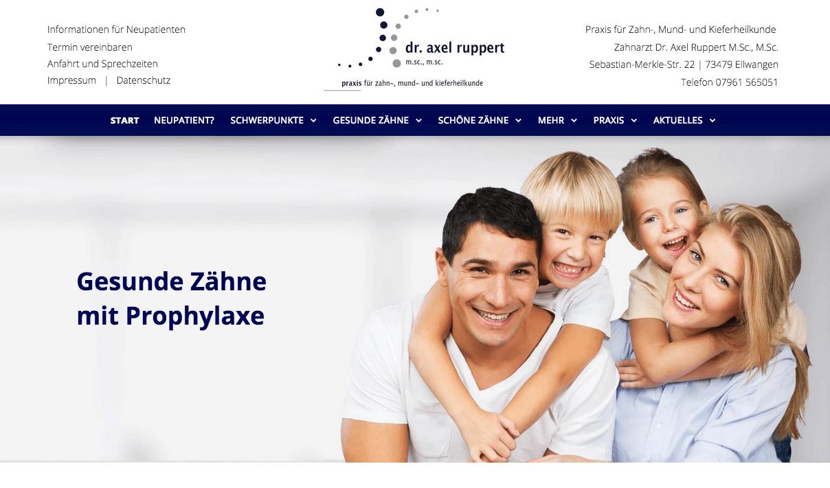 Zahnarztpraxis Dr. Axel Ruppert M.Sc., M.Sc.