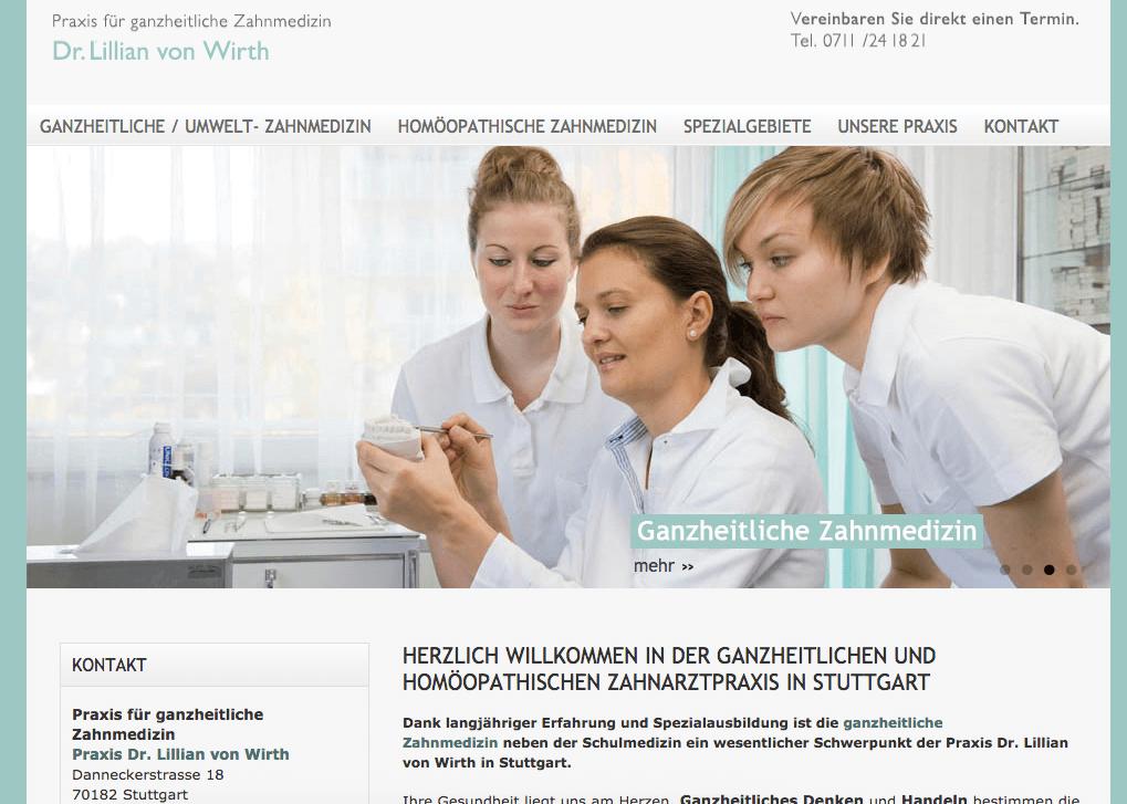 Praxis für ganzheitliche Zahnmedizin -  Dr. Lillian von Wirth