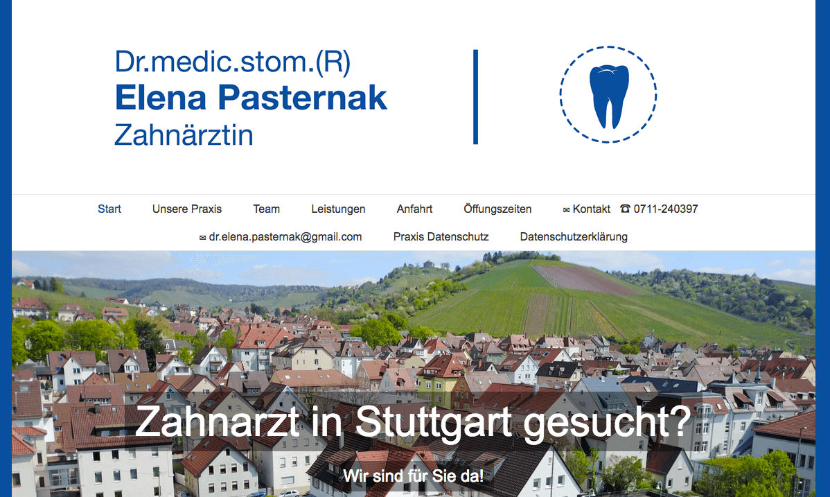 Zahnarztpraxis Dr. Elena Pasternak: