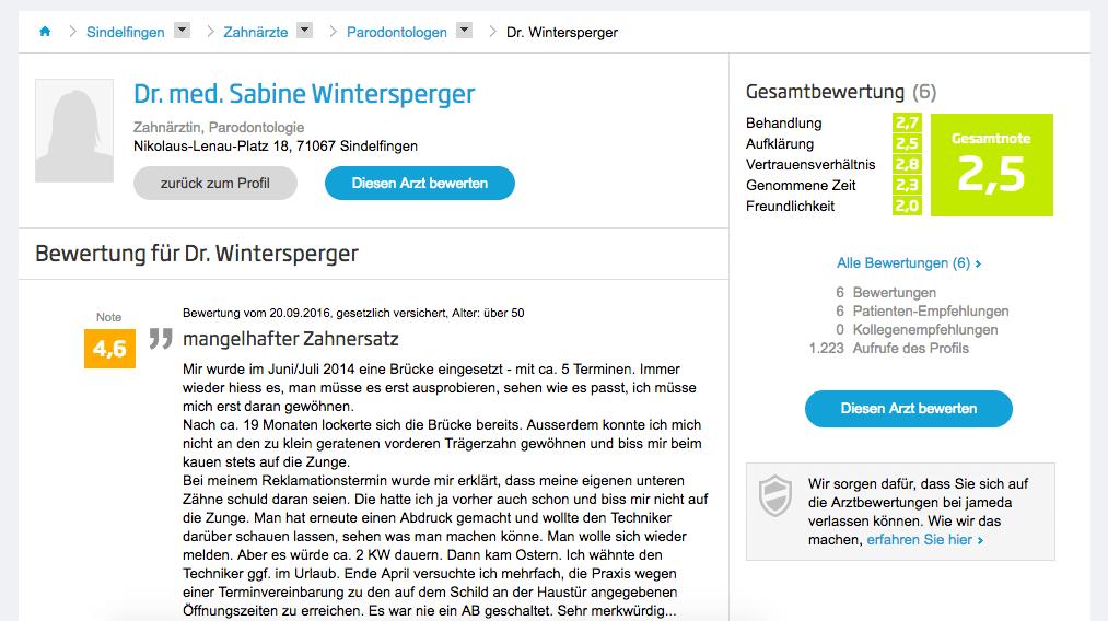 Dr. med. Sabine Wintersperger