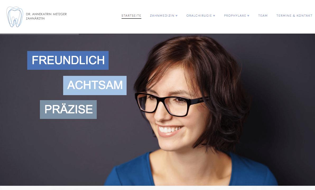 Zahnarzt Kirchzarten & Dreisamtal - Dr. Annekatrin Metzger