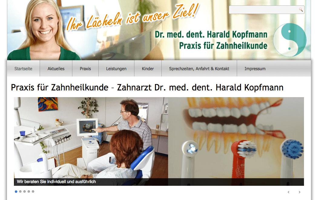 Praxis für Zahnheilkunde - Dr. med. dent. Harald Kopfmann