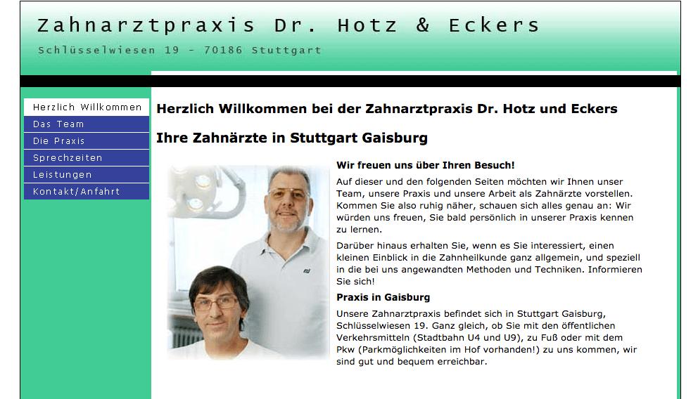 Zahnarztpraxis Dr. Philipp Hotz & Armin Eckers