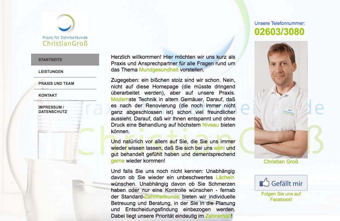 Praxis für Zahnheilkunde Christian Groß