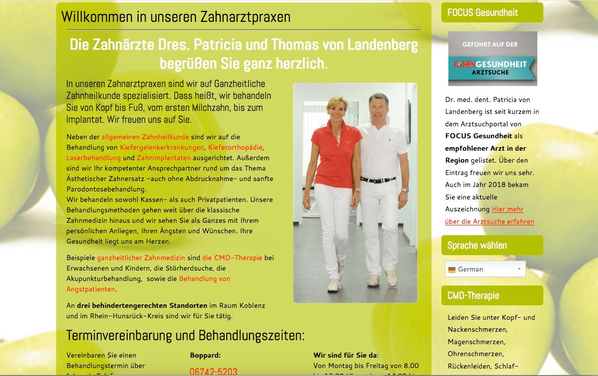 Doctores von Landenberg | Dres. Patricia und Thomas von Landenberg