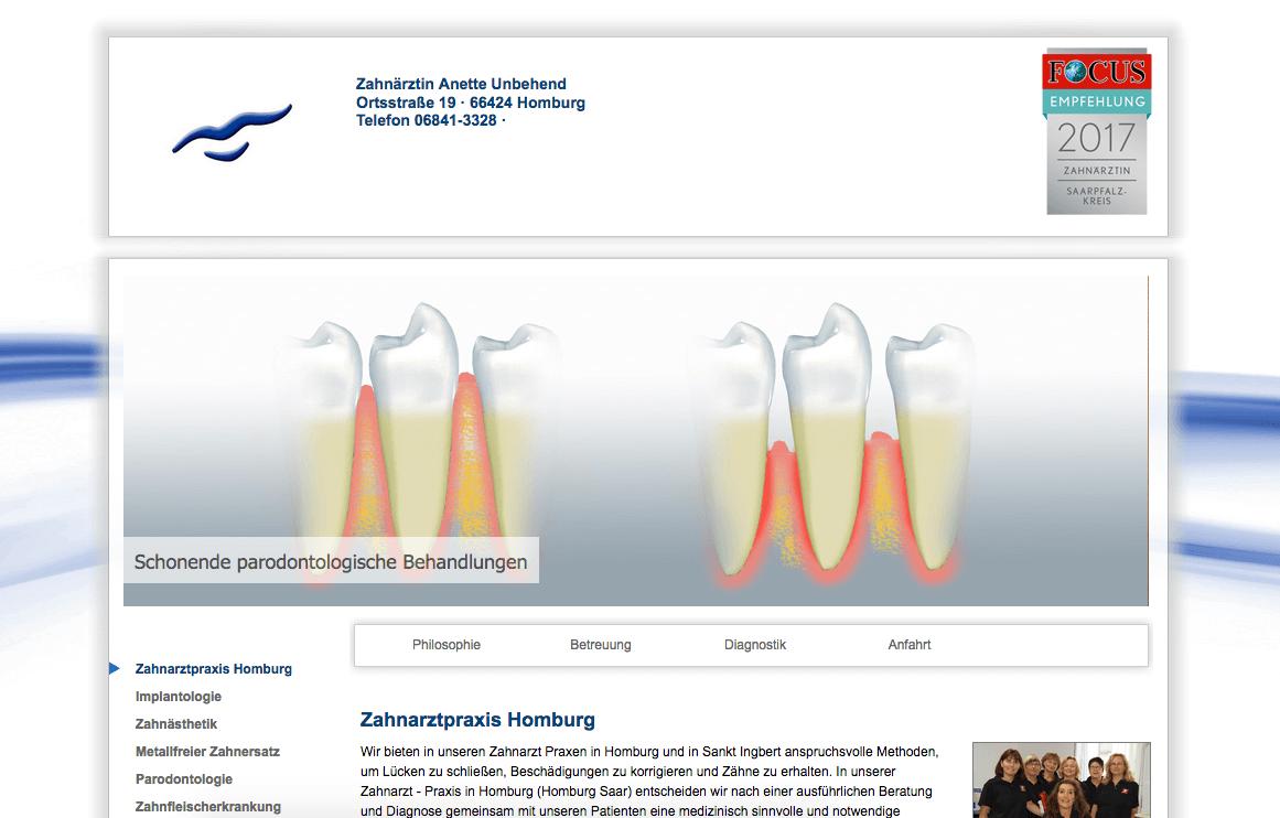 Zahnarztpraxis Anette Unbehend  in Homburg