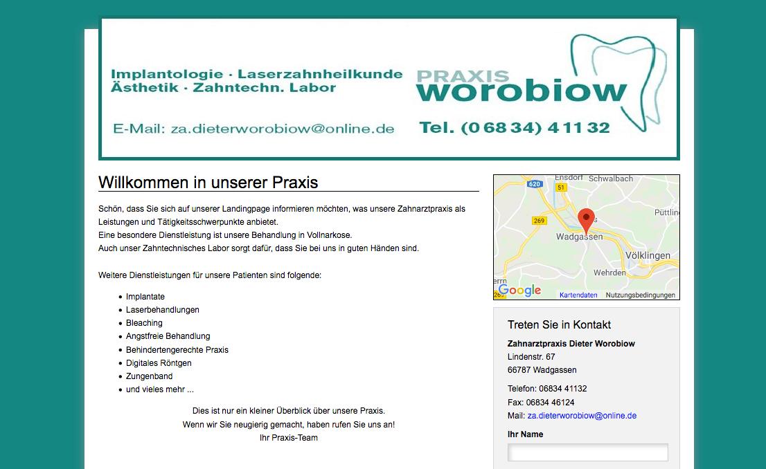 Zahnarztpraxis Dieter Worobiow