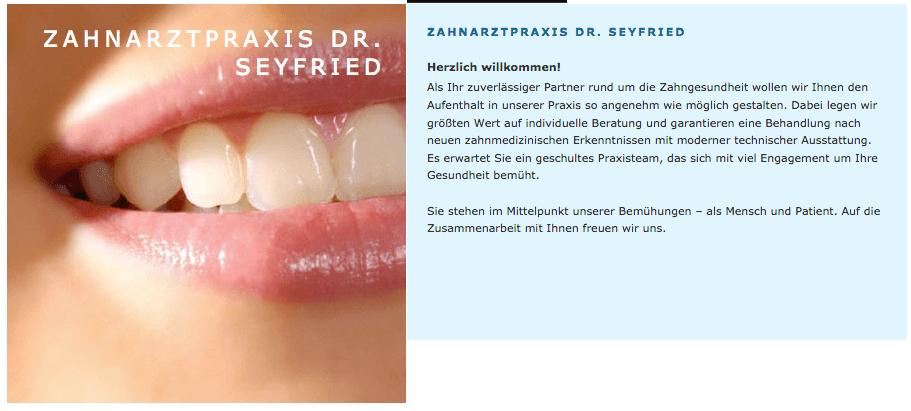 Zahnarztpraxis Dr. Hans-Peter Seyfried