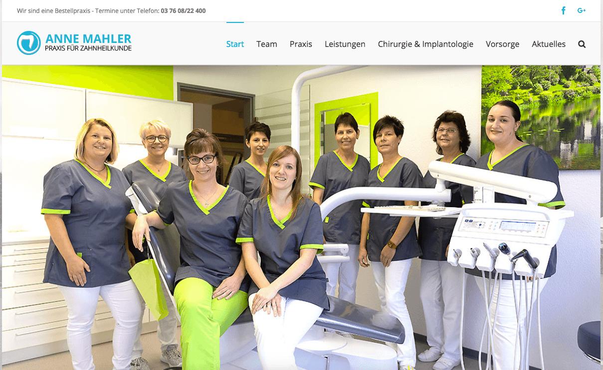Praxis für Zahnheilkunde Anne Mahler in Waldenburg
